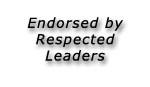 Endorsed by Respected Leaders